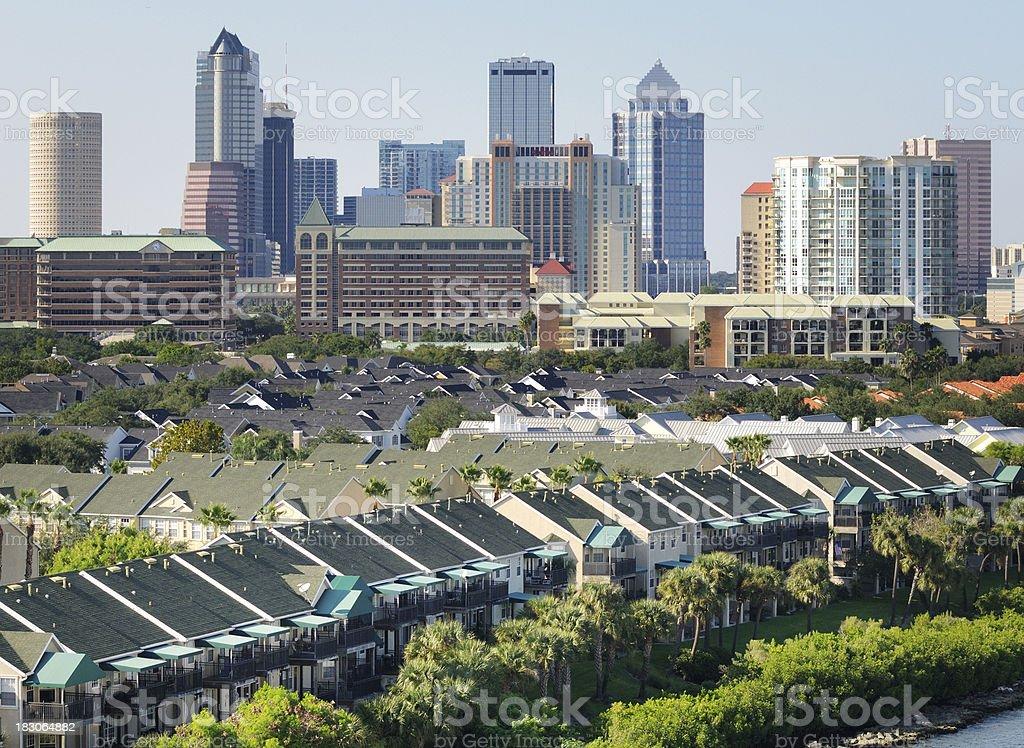 Tampa, Florida royalty-free stock photo