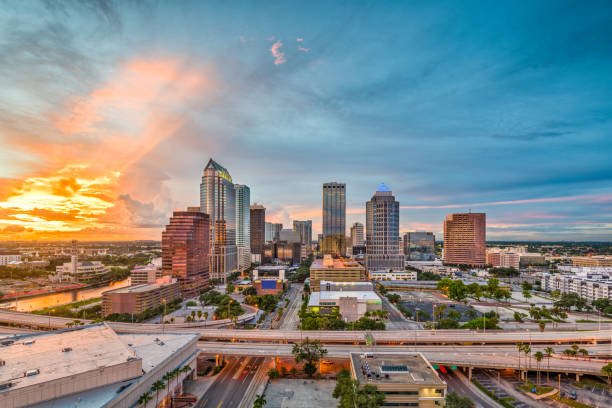 tampa, florida, usa - south stock photos and pictures
