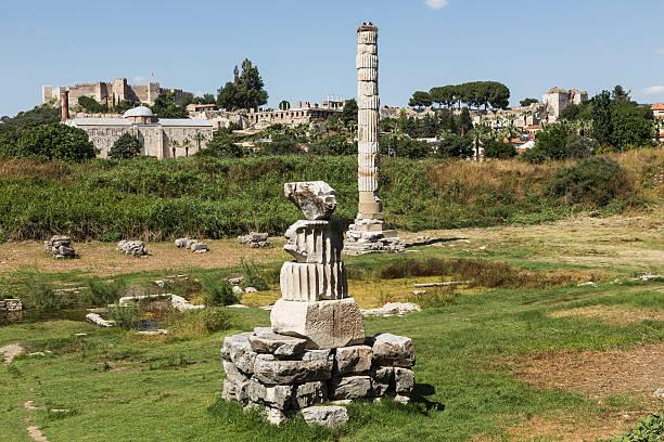 Tample of Artemis Turkey. Ephesus. Temple of Artemis. ephesus stock pictures, royalty-free photos & images