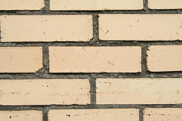 Tan Brick stock photo