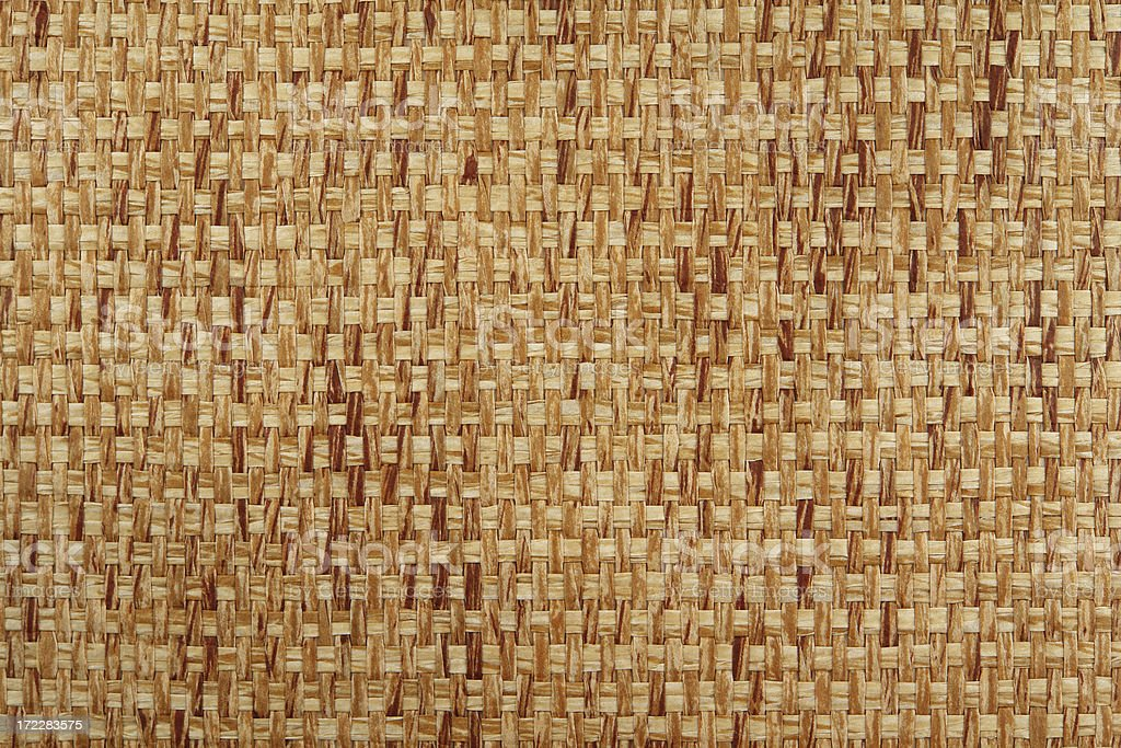 Tan woven texture royalty-free stock photo