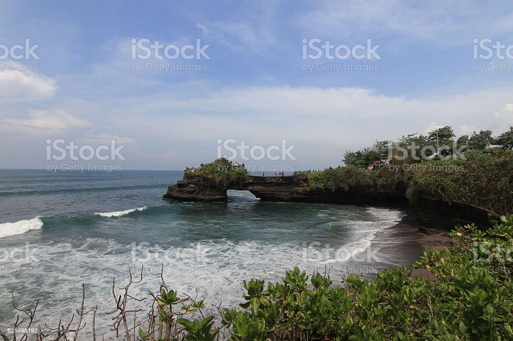 Tanah Lot Bali Indonesia Lizenzfreies stock-foto