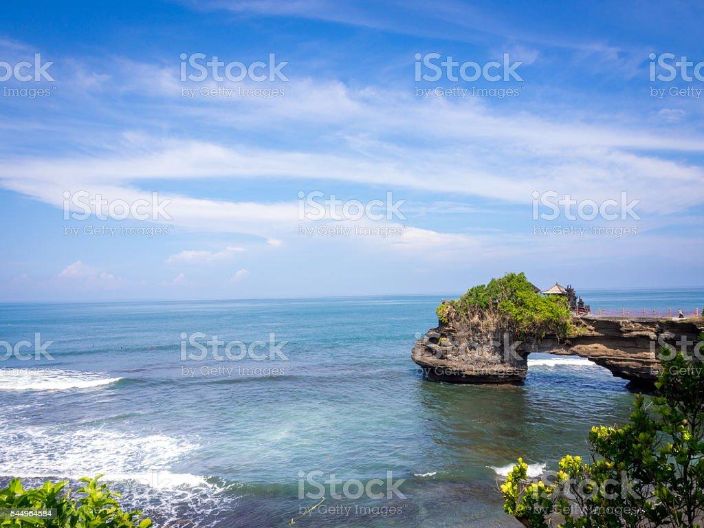 Tanah Memorando de entendimento Praia, Bali, Indonésia foto royalty-free