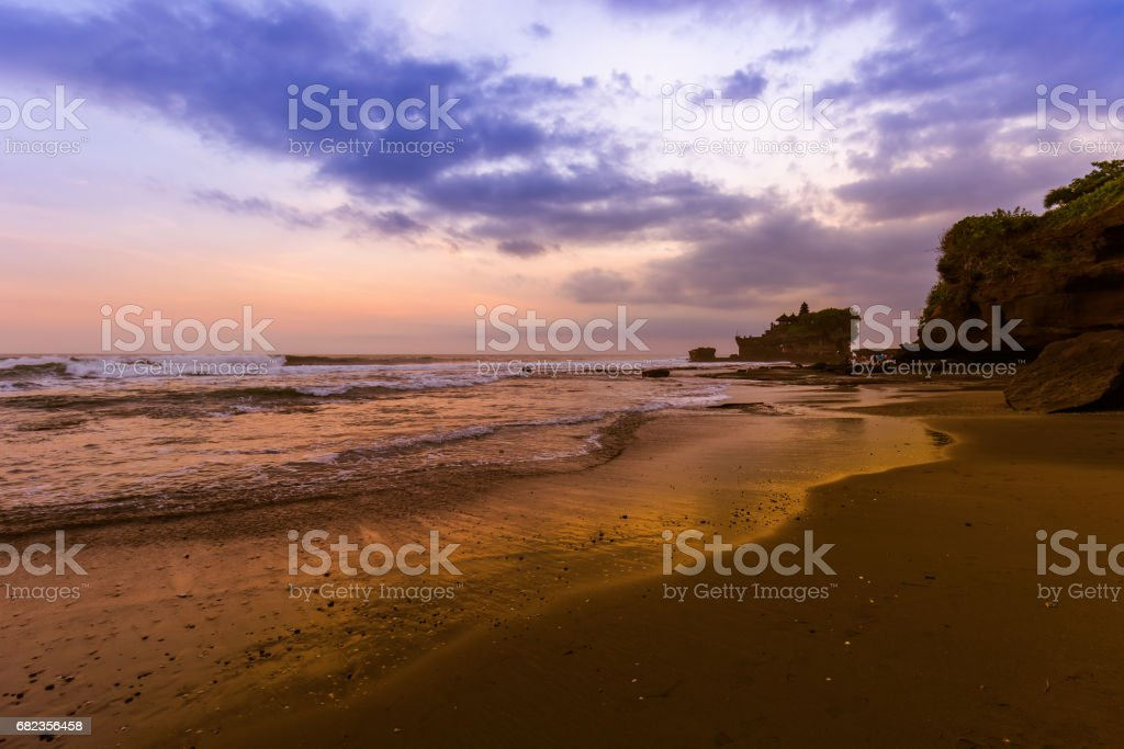 Tanah Lot Temple - Bali Indonesia royalty free stockfoto
