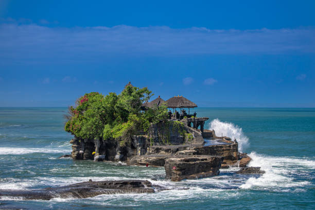 Tanah Lot Temple - Bali stock photo