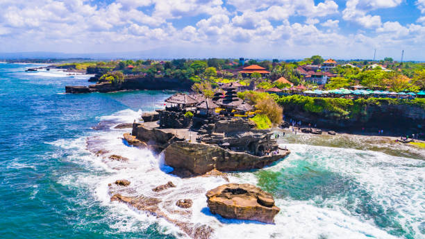 Tanah Lot - Temple in the Ocean. Bali, Indonesia.