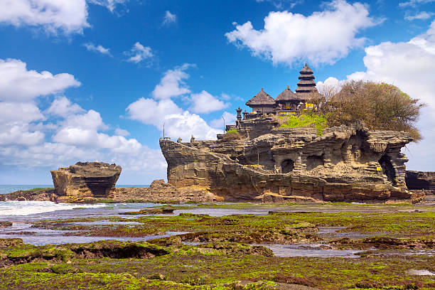 Pura Tanah Lot stock photo