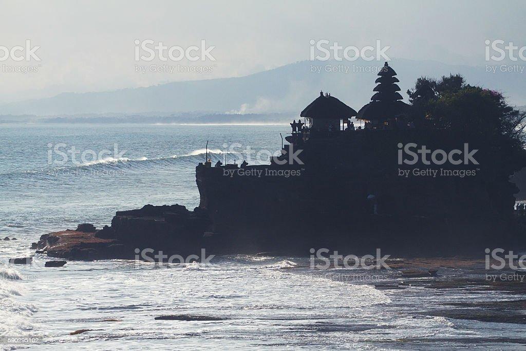 Tanah Lot Temple royaltyfri bildbanksbilder