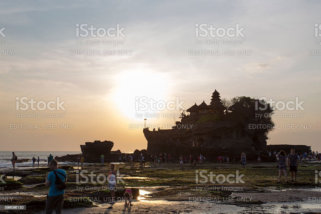 Tanah Lot temple royalty-free stock photo