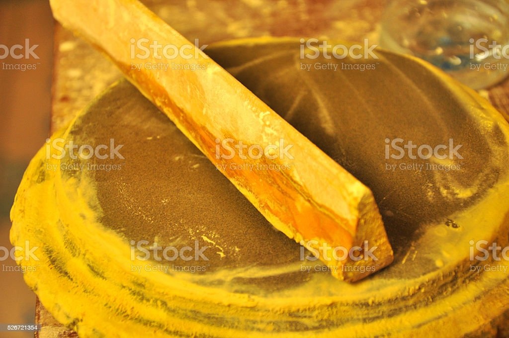 Tanaka Powder For Skin Care The Traditional Of Myanmar Stock