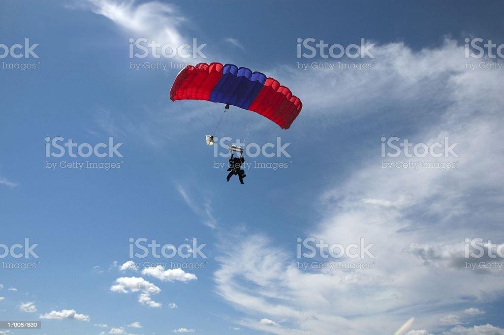 Tandem Parachute stock photo