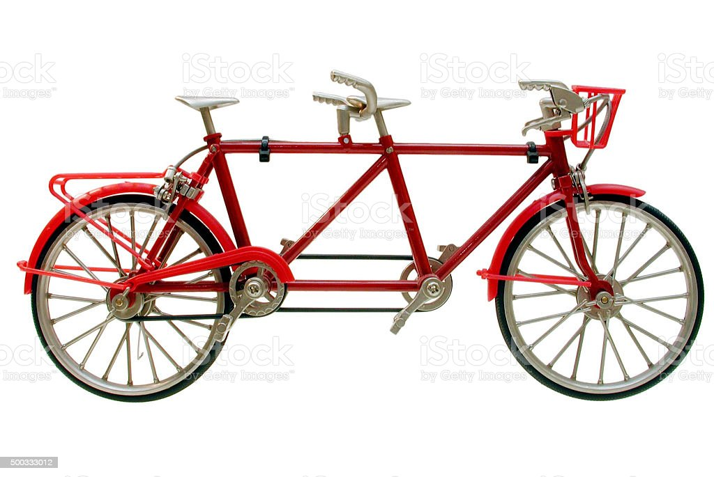 Tandem (Miniatur) stock photo