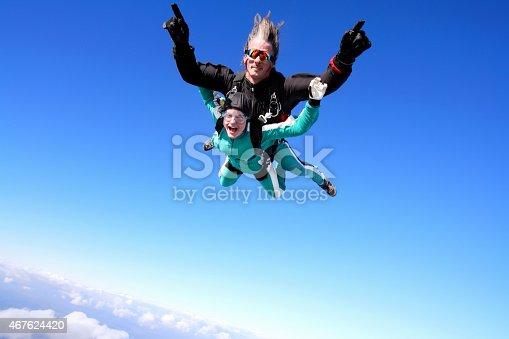 istock Tandem skydiving 467624420