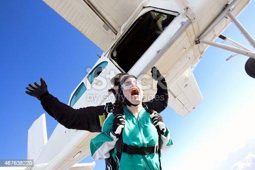 istock Tandem skydiving 467638220