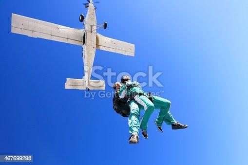 istock Tandem skydiving 467699298