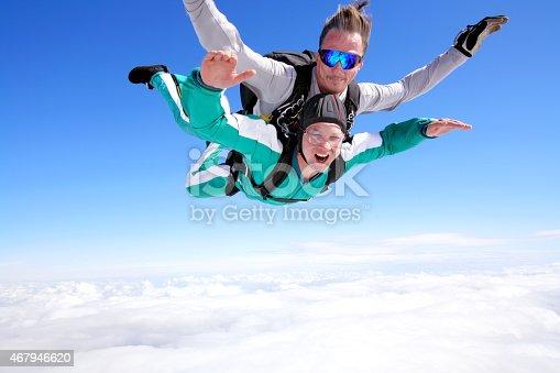 istock Tandem skydiving 467946620