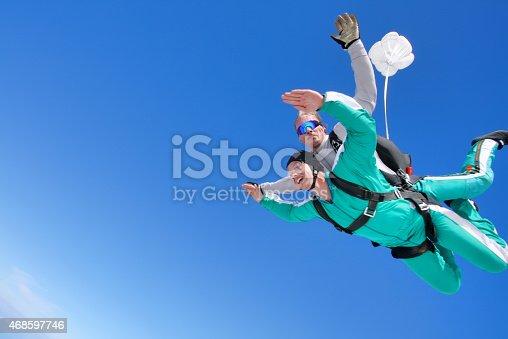 istock Tandem skydiving 468597746