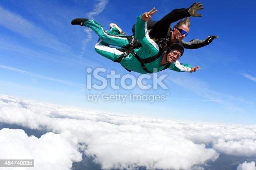 istock Tandem skydiving 484740035