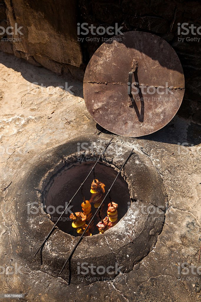tandoor stock photo