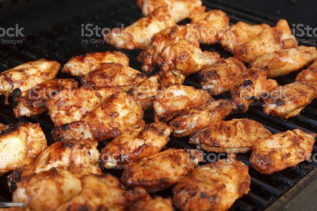 Tandoori Chicken wings royalty-free stock photo