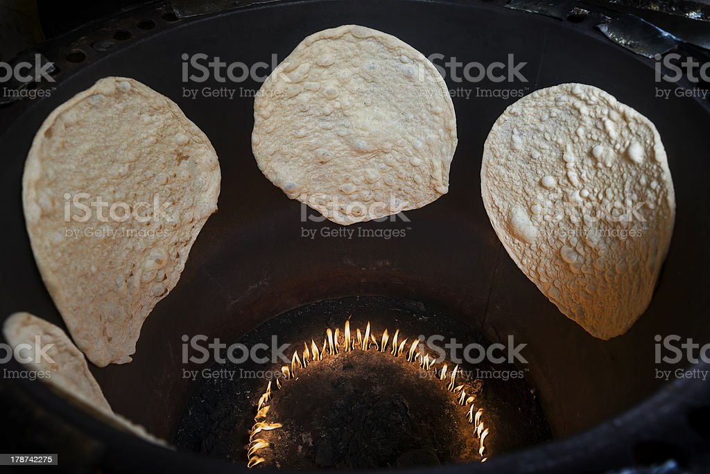 Tandoori oven stock photo