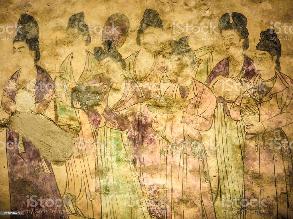 唐朝のフレスコ画 - フレスコ画のストックフォトや画像を多数ご用意 ...