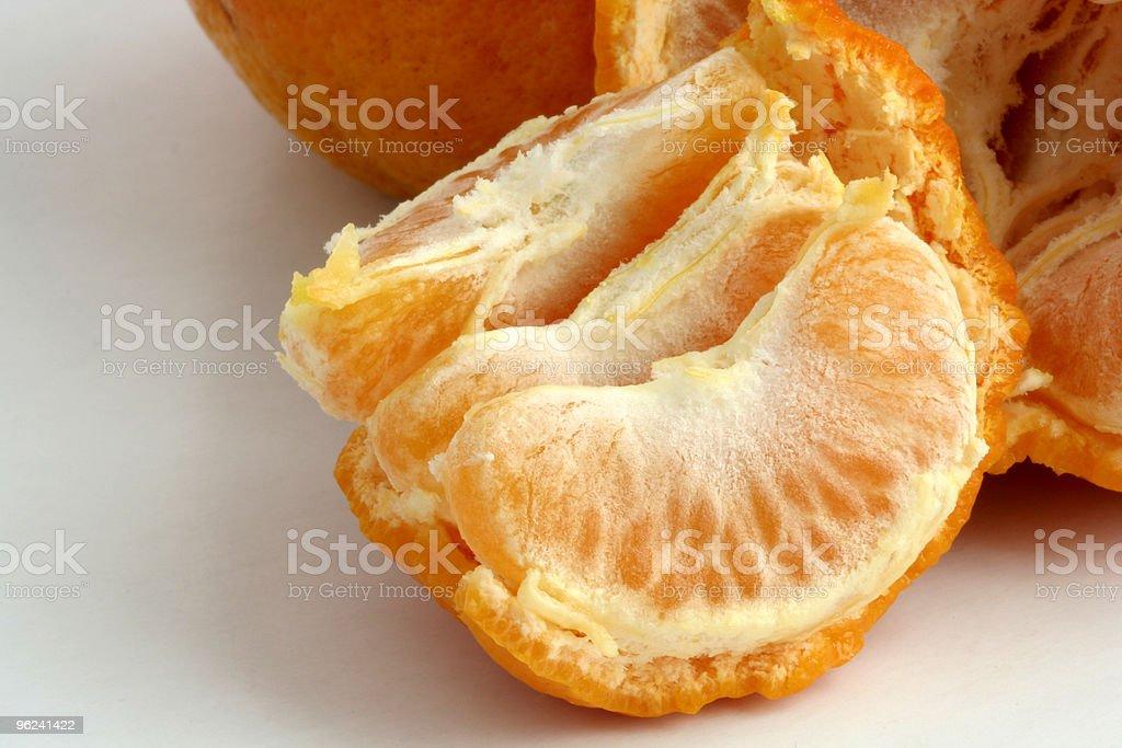 Tangarine Segments stock photo