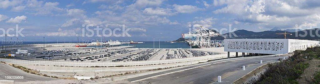 Tanger Med stock photo
