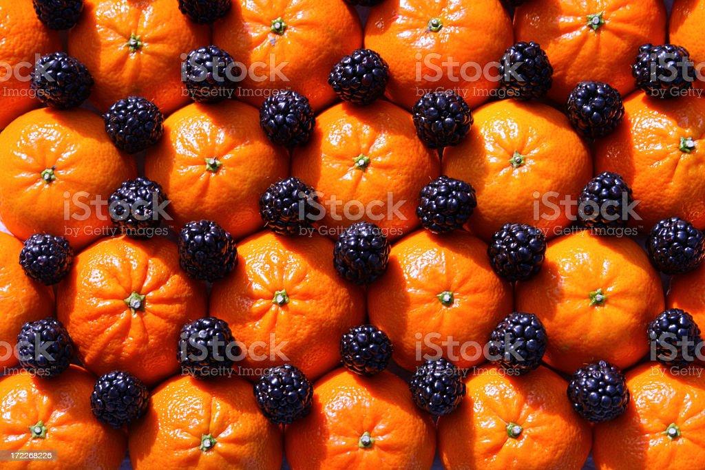 Tangerine Art royalty-free stock photo