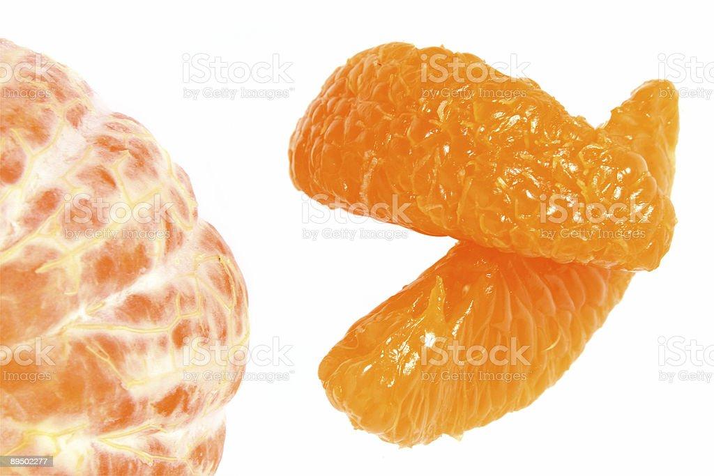 Tangerine detail royalty-free stock photo