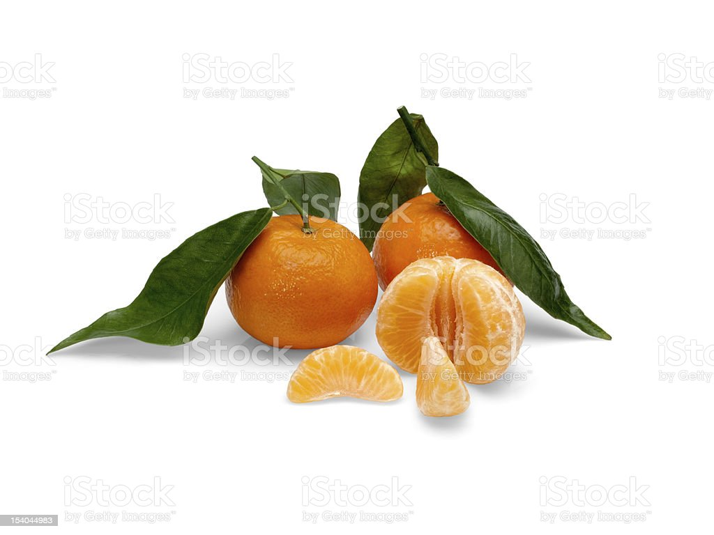 Tangerine fruits. royalty-free stock photo