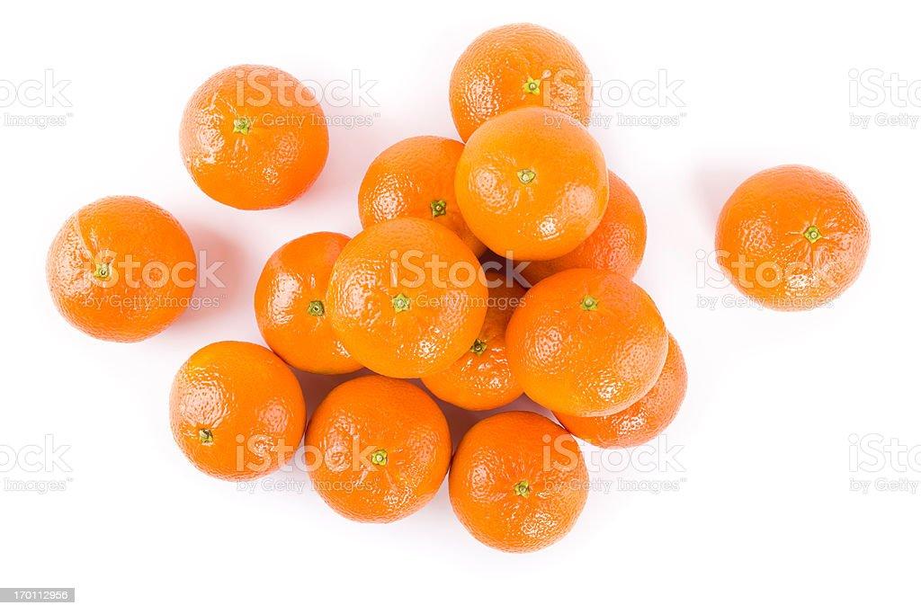 tangerine fruits royalty-free stock photo