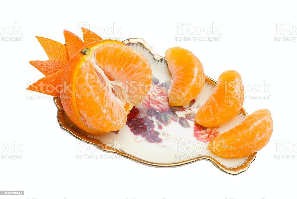 Tangerine | Isolated stock photo