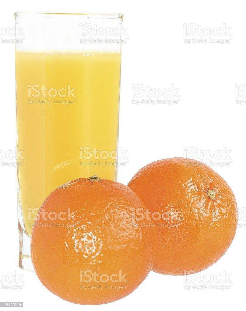 Succo di mandarino foto stock royalty-free