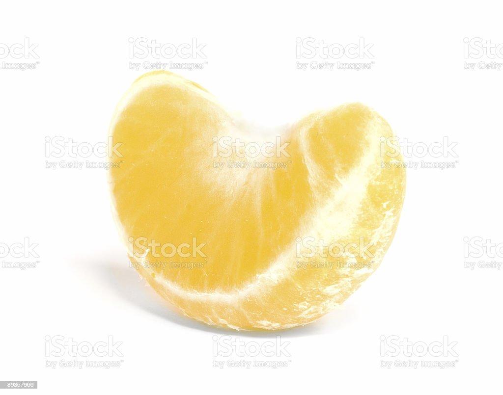 Tangerine Segment royaltyfri bildbanksbilder