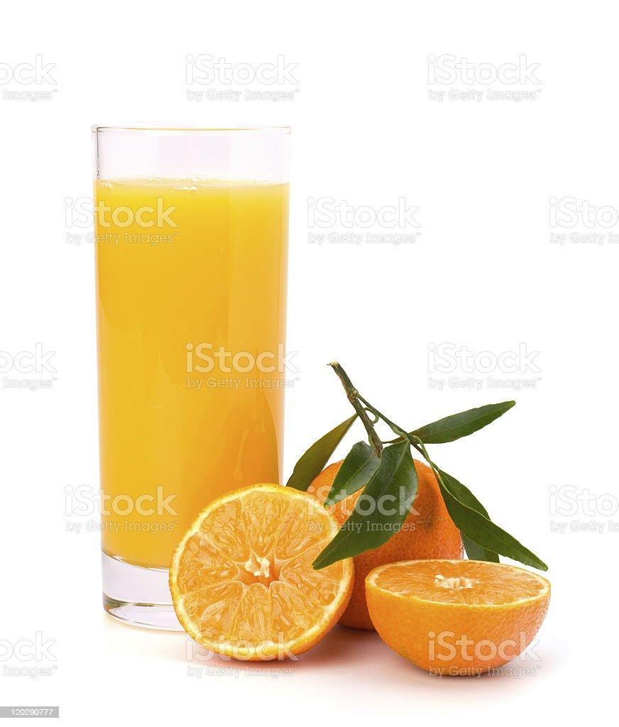 tangerines juice royalty-free stock photo