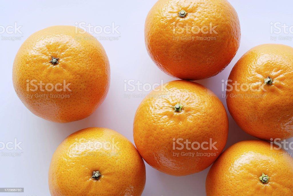 Tangerines foto de stock libre de derechos