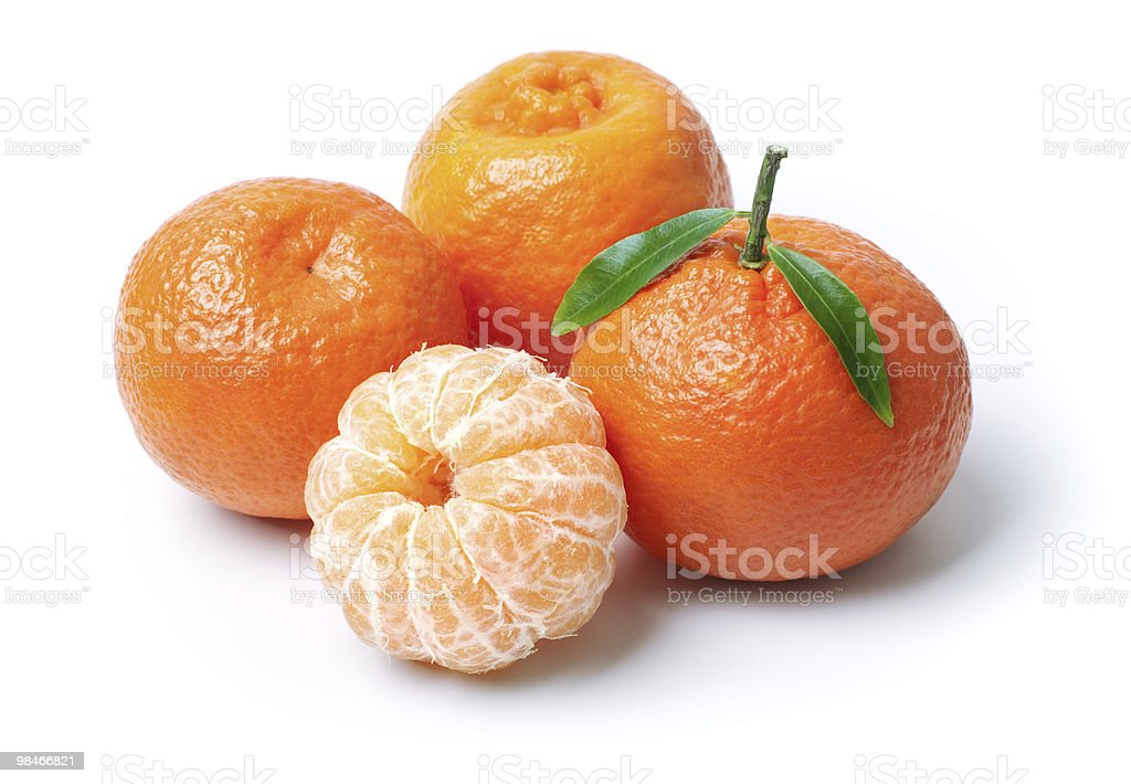 Tangerines royalty-free 스톡 사진