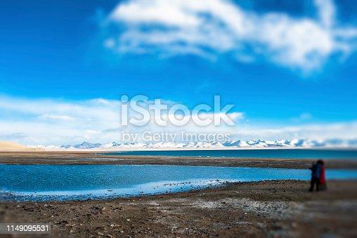 Tanggula Mountains in Tibet, China
