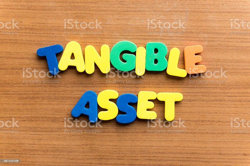 tangible asset stock photo