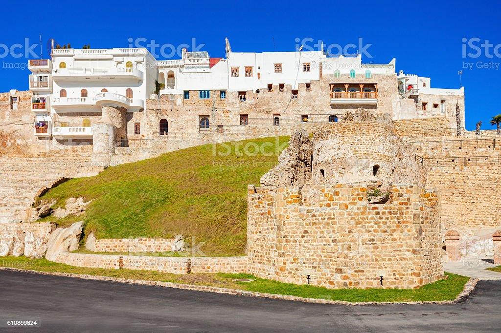 Tangier in Morocco stock photo