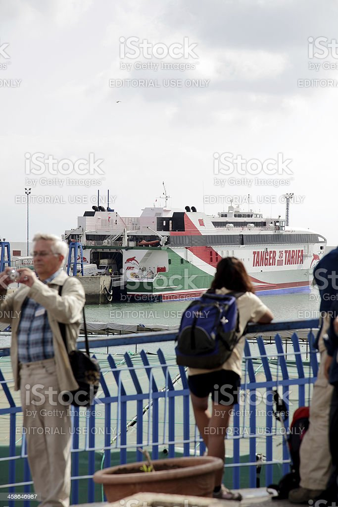 Tangier royalty-free stock photo