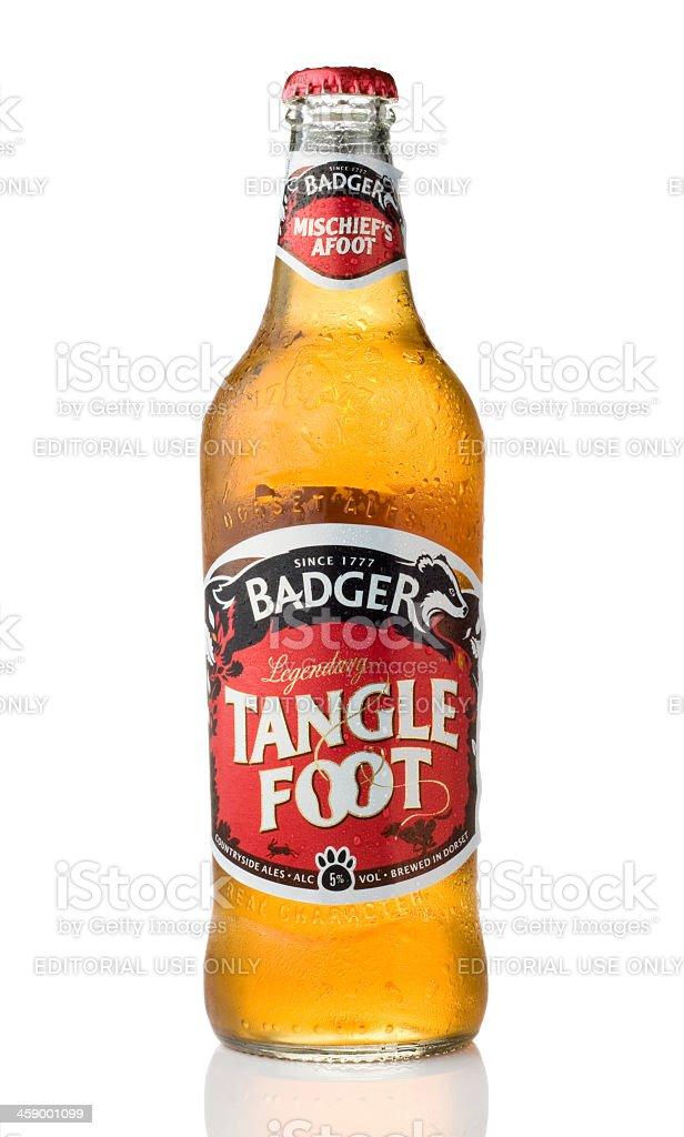 Tangle Foot Ale stock photo