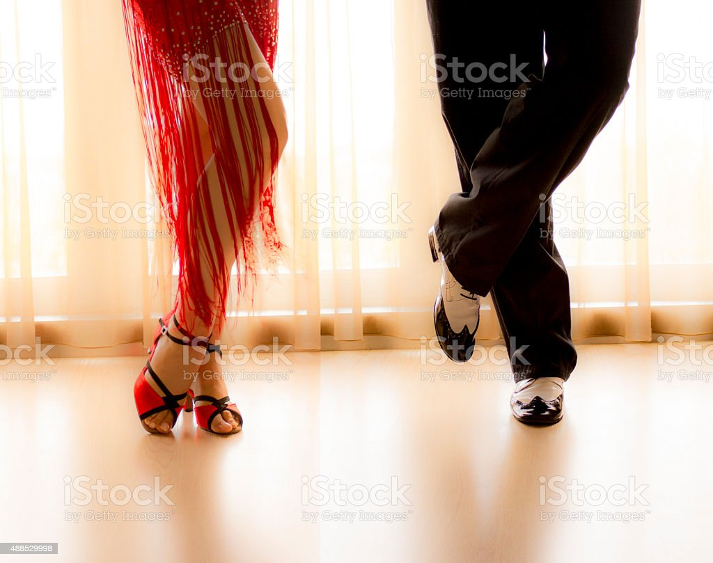Tango Dance stock photo