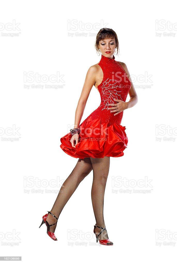 Tango dancer royalty-free stock photo
