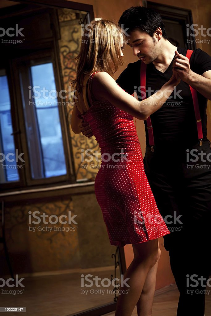Tango Passion stock photo