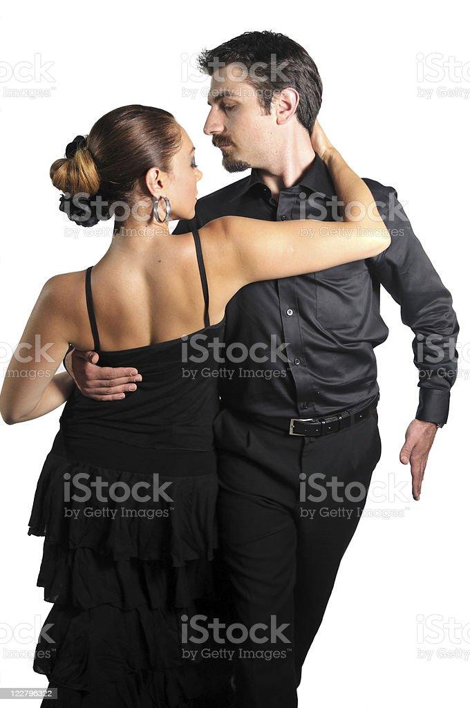 Tango royalty-free stock photo
