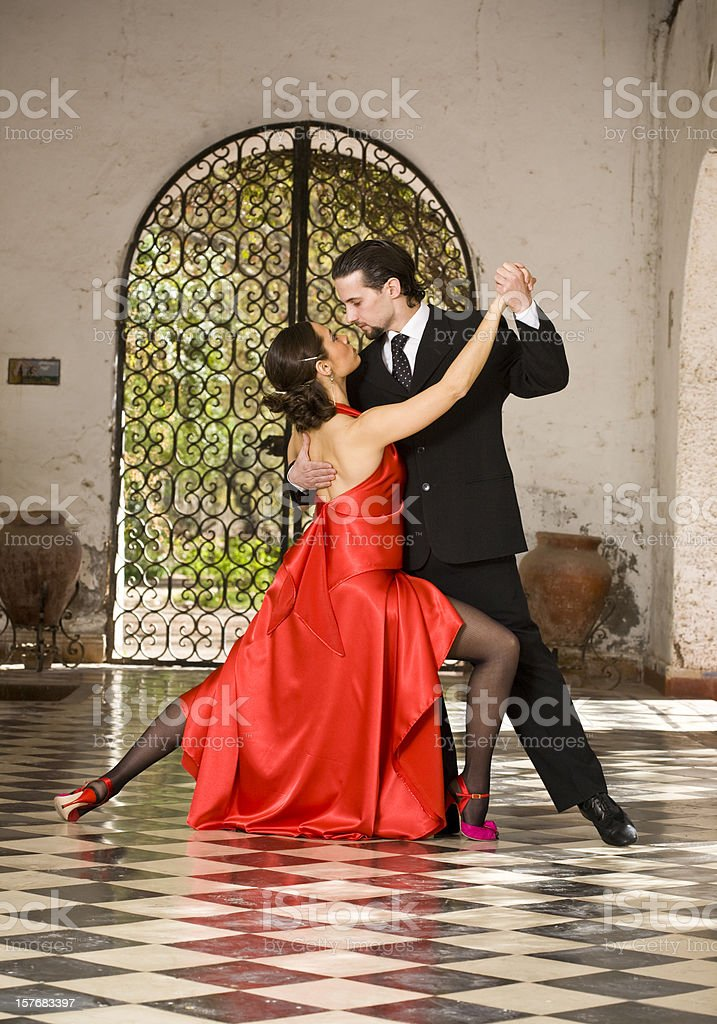 Tango royalty-free stock photo