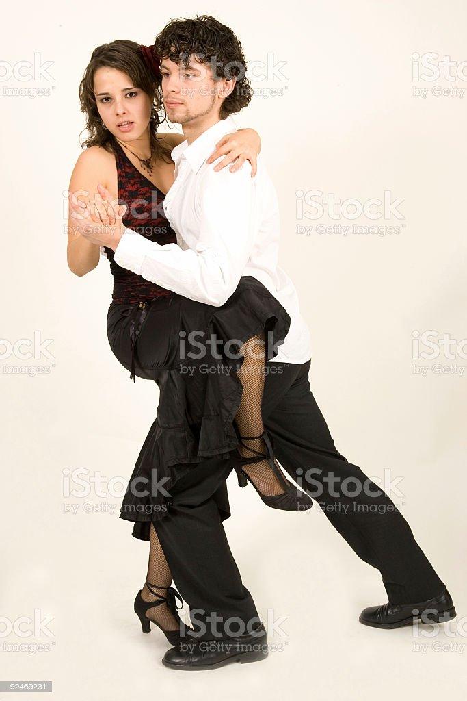 Tango! royalty-free stock photo