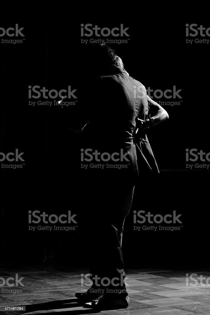 Tango Story stock photo